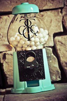 Tiffany  Inspired  Bubblegum Machine by tomorrowstreasures1, $20.00