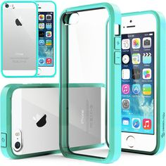 Caseology® iPhone 5S case [Fusion] [Turquoise Mint]