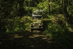 Offroading with Troopy, Land Cruiser HJ47, in Lahemaa National Park, Estonia