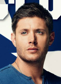 Comic Con Cover closeup of Jensen, 2016 (although this is a promo from season9!)