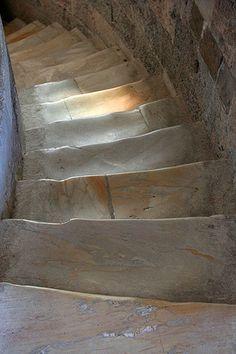 Pisa Leaning Tower Stair