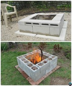 Amazing Cinder Block Fire Pit Design Ideas For Outdoor Cinder Block Fire Pit - There is always a good reason to build a fire pit in your backyard. And when it comes to building a fire pit, cinder block is always a good material to use.