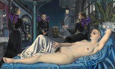 Paul Delvaux - 1897-1994 - La Voie Publique, 1928