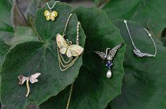 Spring jewelry from Rock of Eden #spring #springjewelry #springfashion #jewelry #uniquejewelry #butterfly #birds
