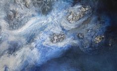 'Blue Resin Sea' Surface by London Art and Design Collective 'Based Upon' | Based Upon