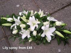 Flower spray – – – Source by Casket Flowers, Grave Flowers, Cemetery Flowers, Church Flowers, Funeral Flowers, Wedding Flowers, Funeral Floral Arrangements, Easter Flower Arrangements, Ikebana Flower Arrangement