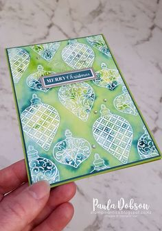 Learn card making and learn new stamping techniques with Alisa Tilsner Independent Stampin' Up! Classes available online. Stampin Up Christmas, Handmade Christmas, Christmas Time, Holiday Cards, Christmas Cards, Holiday Ornaments, Christmas Decorations, Karten Diy, Stamping Up
