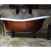 """67"""" Cast Iron Slipper Clawfoot Tub w/Lions feet $1845.00"""