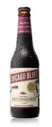 Cerveja Chicago Blues Robust Smoked Porter, estilo Other Smoked Beer, produzida por Gaudenbier Cervejaria, Brasil. 6.2% ABV de álcool.