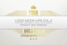 Logo Mock-ups Vol.2 by Zeppelin Graphics on @creativemarket
