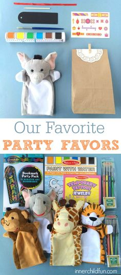 Birthday Party Favor Ideas - love these!!