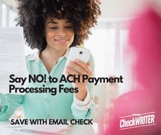 """Ach Payment - Pay and Get Paid by email for FREE. No more ACH Fees All the tools were professional, thoughtful, is providing is brilliant. """"very pleasantly surprised. Great software, very useful tool! Order Checks Online, Blank Check, Pay Yourself First, Writing Software, Accounts Payable, Check Email, Custom Website Design, Business Checks, Check Printing"""