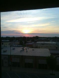 Sunrise this morning 8/18/15