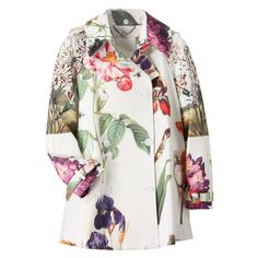 stella maccartney multi botanical coat