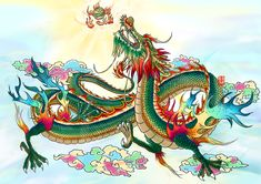 :OC:.:Fortunate Dragon:. by AoronQinG