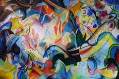 Image result for kandinsky colour theory paintings