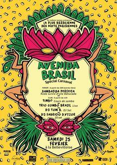 Avenida Brasil Spécial Carnaval — kiwol.com