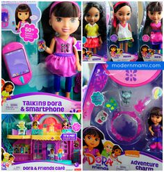 The new Dora and Friends toys are a great holiday gift idea for young kids! Read our Dora and Friends toys review and watch our video to find out more!