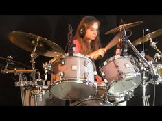 More Than A Feeling (Boston); drum cover by Sina Tom Scholz, Music Songs, Music Videos, Girl Drummer, Drums Sheet, More Than A Feeling, Drums Beats, Drum Music, Drum Cover