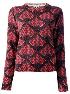 KENZO Petal Print Sweater