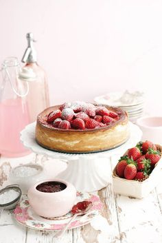 Korslose Baked Cheesecake by Sarie.com - Can you believe it's sugar-free?!