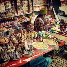 The Witches Market, La Paz by drakeslave