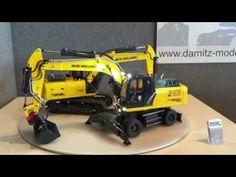 BRUDER LEKSAKER RC / New Holland grävmaskin E175C