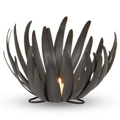 Find it at the Foundary - Bloom Metal Candle Holder - Small