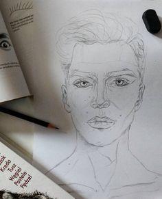 Portrait vibes ✏ ° ° ° ° #potrait #drawing #draw #sketch #sketchbook #art #pencil #inpencil #man #boy #doodle #practice #sketching #realistic #eyes #artwork #illustration #portret #szkic #mężczyzna #彼氏 #鉛筆 #handsome #instaart #instadraw #portraiture #pencildrawing #ドローイング #お絵描き#スケッチ