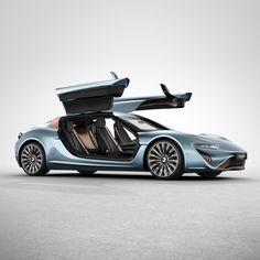 Salt water-powered electric car