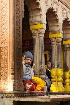 Holyman in Mathura, India 005 | Flickr - Photo Sharing!