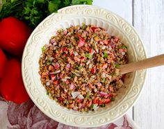 Disney's Epcot in Orlando Florida: Moroccan Lentil Salad COPY CAT RECIPE