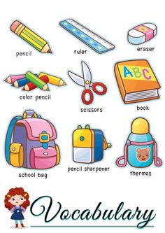 Learning English For Kids, English Lessons For Kids, Kids English, English Language Learning, Learn English Words, English Study, Teaching English, Preschool Learning, Preschool Activities