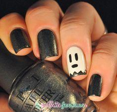 La paillette frondeuse: Halloween #2 // Boo ! + tutoriel