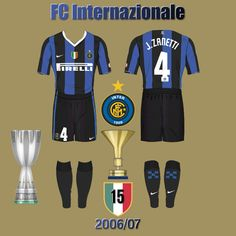 FC Internazionale 2006/07 Bar, Sports, Tops, Sport, Shell Tops