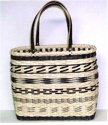 Sampler Tote Basket (pattern by Dianne Gleixner)