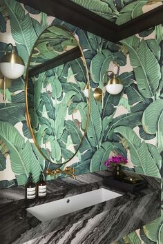 Trendy Combos - Moody Bathrooms That Create The Ultimate Ambiance - Photos