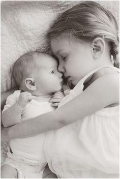 Big Sister + Baby Brother. by alena.davydenko