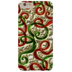 Christmas Doodle iPhone 6 plus barely there case Barely There iPhone 6 Plus Case