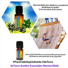 #Deportes con #doTerra #Aceites Esenciales