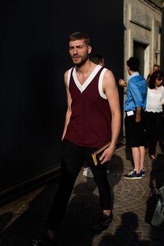 Semana de Moda Masculina de Milão S/S 2014. Foto: Scott Schuman