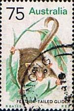 Australia 1974 Animals SG 564 Feather Tailed Glider Fine Used                       SG 564 Scott 568    Condition Fine Used    Only one post charge