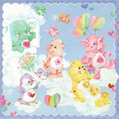 Care Bears & Cousins Set: Funshine Bear with Gentle Heart Lamb, Proud Heart Cat, Cozy Heart Penguin & Lotsa Heart Elephant