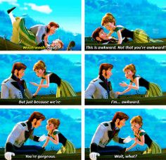 Frozen. One of my favorite scenes! Love this movie!