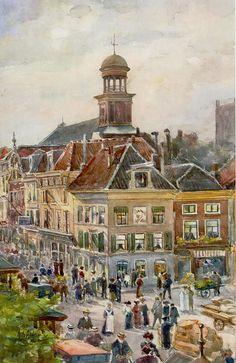 A Grolman - Gezicht op de Potterstraat - 1907