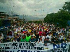 4/5/2014 - Otra vez Tachira en la calle