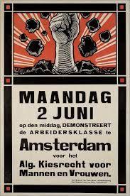 Afbeeldingsresultaat voor sdap poster Comic Books, Vintage, Baseball Cards, 1930s, Dutch, Posters, Socialism, Nostalgia, Dutch Language