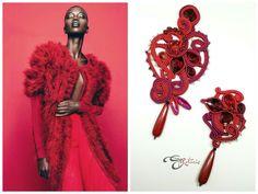 #simonarotaris #soutache #handmadejewelry #earrings #uhani #pendientes #ooak #örhängen #korvakorut #øredobber #oorbellen #øreringe #bouclesdoreilles #auskarai #náušnice #brincos