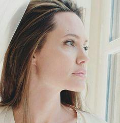 Angelina Jolie — Angelina Jolie for Mon Guerlain