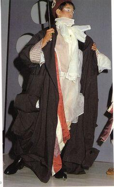 1984 - John Galliano graduated show from St Martin